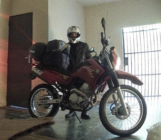 Minha primeira grande moto - iniciando nas estradas. Yamaha XTZ Lander 250 cc