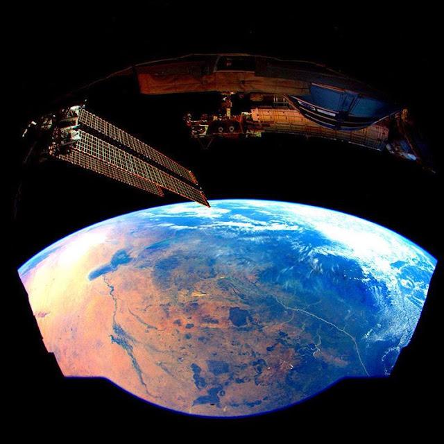 Afrika Dari Jendela ISS