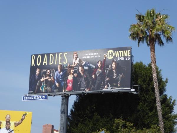 Roadies series premiere billboard