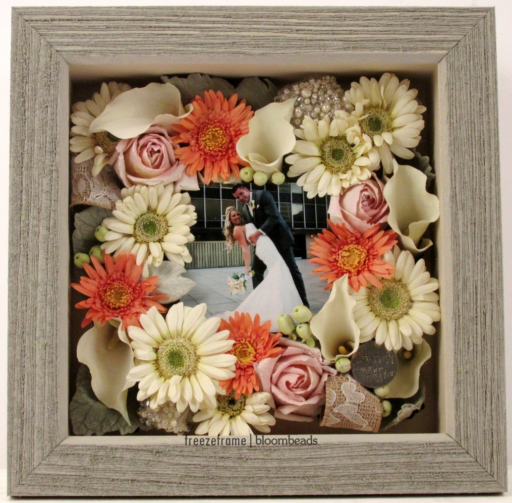 Frame Your Wedding Flowers Save Your Wedding Bouquet Forever With