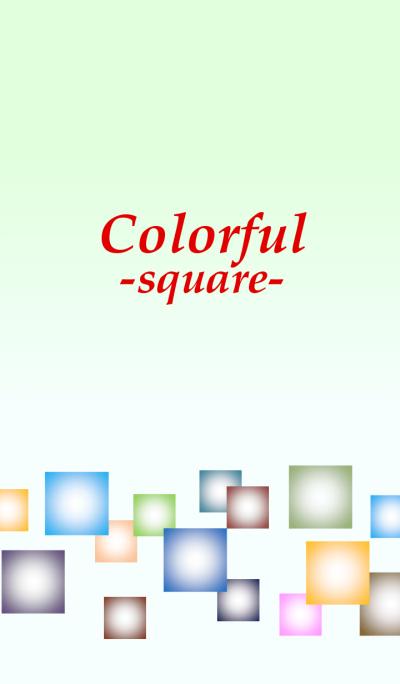 Colorful -square-