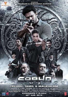 Saaho 2019 Hindi Pre-DVDRip 700Mb Download