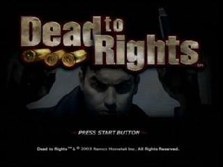 Imagem Dead To Rights 1 Torrent PS2 ISO site jogo sem vírus