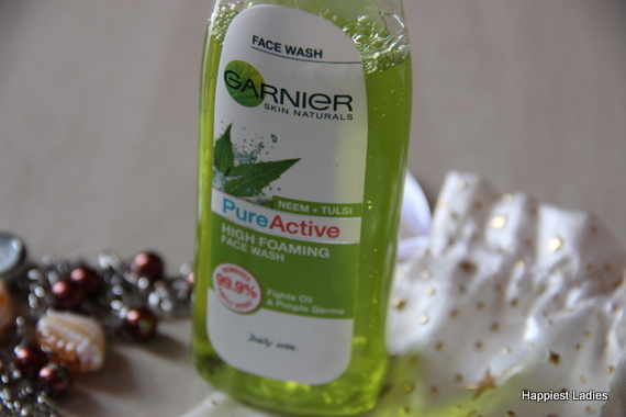 Garnier Neem Tulsi High Foaming Face Wash