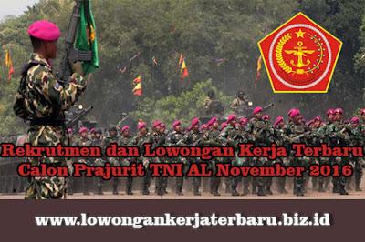 Rekrutmen dan loker Terbaru Calon Prajurit TNI AL udpdate