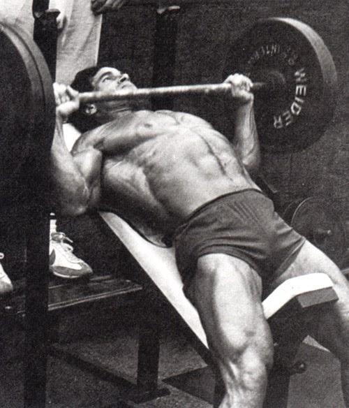 تمارين عضلات صدر فرانكو كولومبو