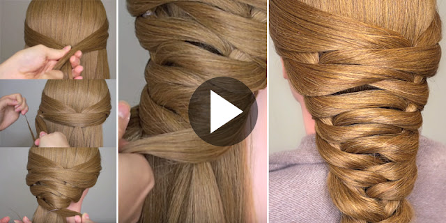 Learn - How To Create Easy Bridal Tier Braid Hairstyle, See Tutorial