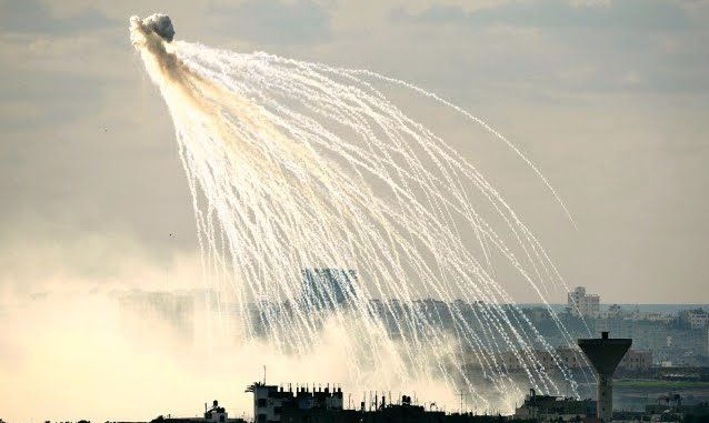 Bombardata una provincia siriana con fosforo bianco, arma vietata dall'Accordo di Ginevra.