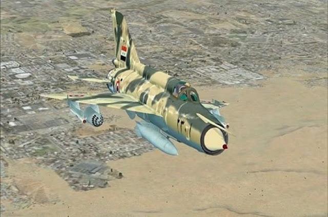 Pesawat Tempur Suriah Hancurkan Markas ISIS