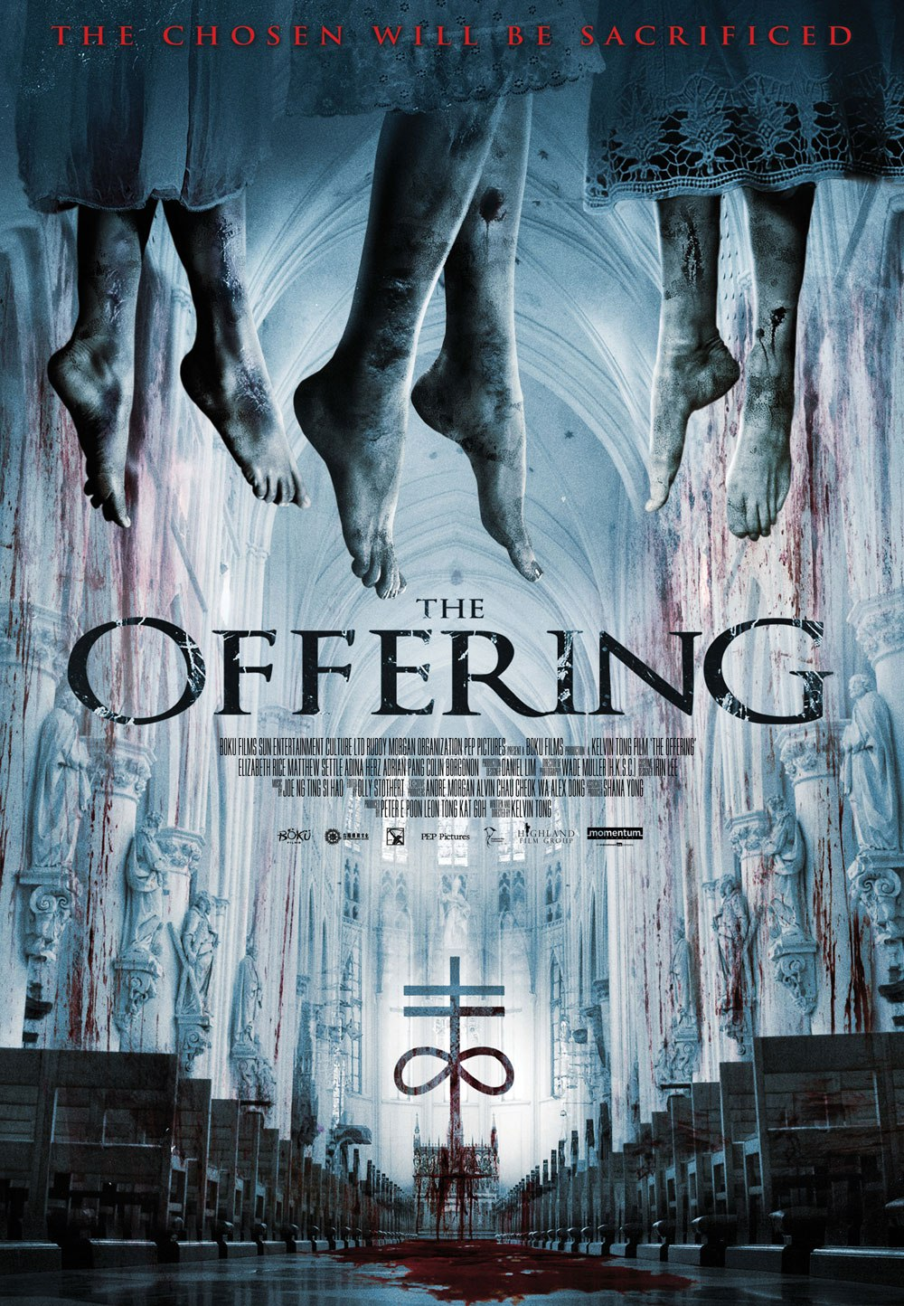 Baixar capa The Offering HDRip XviD e RMVB Legendado Download