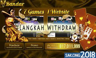 Langkah Withdraw Judi Poker Online VBandar.info