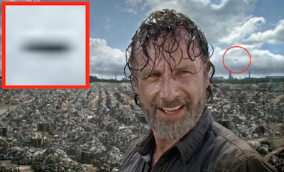 The Walking Dead: UFO o aereo?