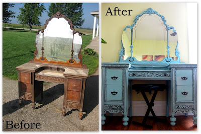 TONS Of Furniture Before And Afters