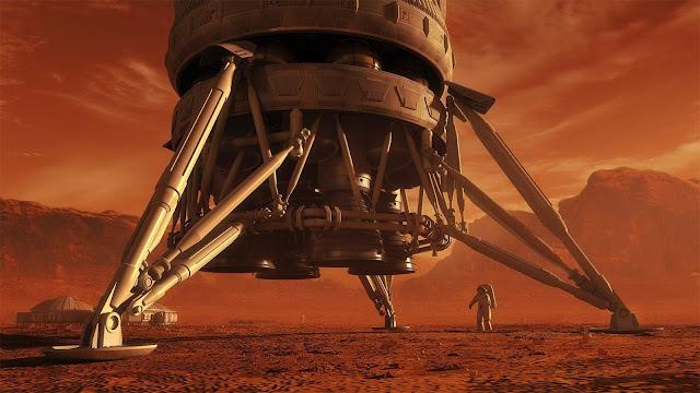 Cena do filme Perdido em Marte; vencedor do Oscar
