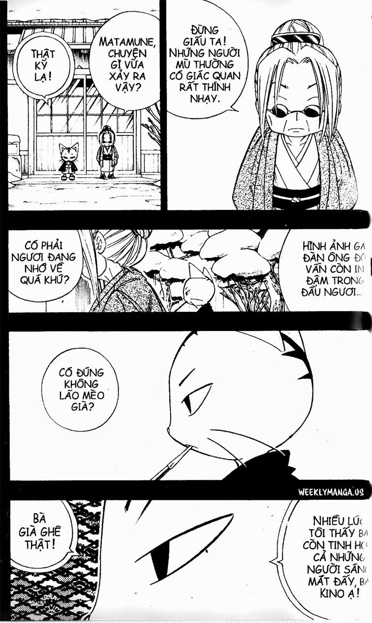 Shaman King [Vua pháp thuật] chap 168 trang 18