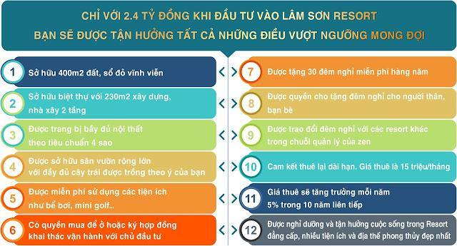 Giới thiệu Lâm Sơn Resort