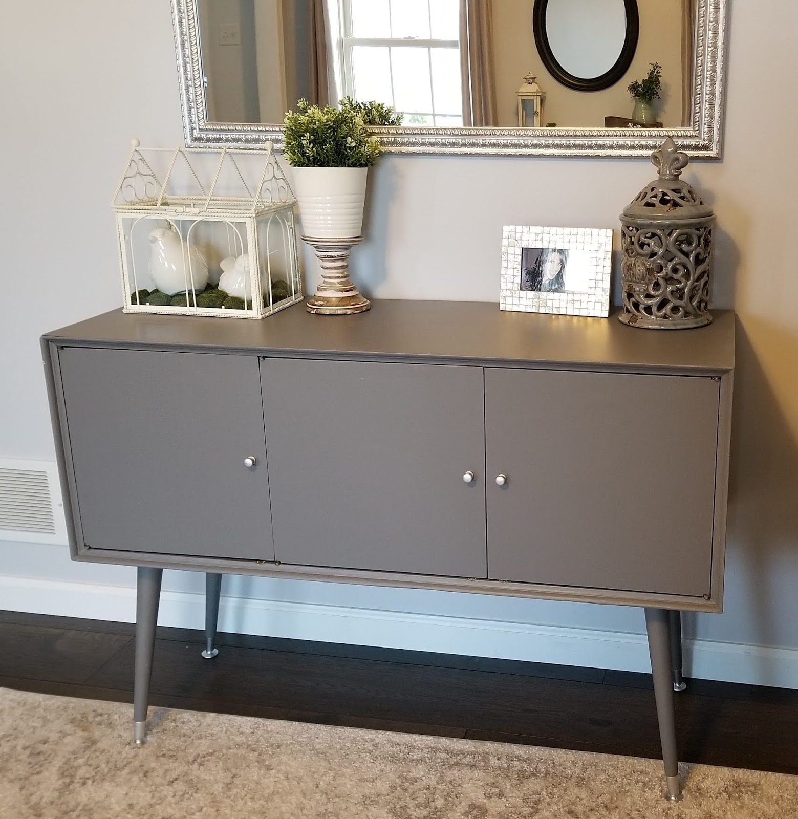 Midcentury Mid Century Modern Cabinet DIY