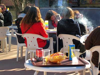 Cafeteria en la Plaza de la Torre del Parque de Torreblanca