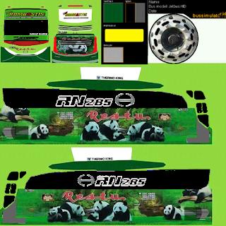 Download 50 Livery Bus Simulator Indonesia Kualitas HD Terbaru