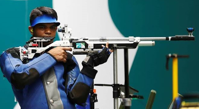 Asian Games 2018 - Indian Shooter Deepak Kumar wins 10m air rifle Silver medal