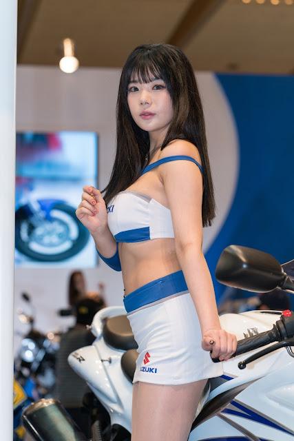 3 Chae Binnie Seoul Motor Cycle Show - very cute asian girl-girlcute4u.blogspot.com