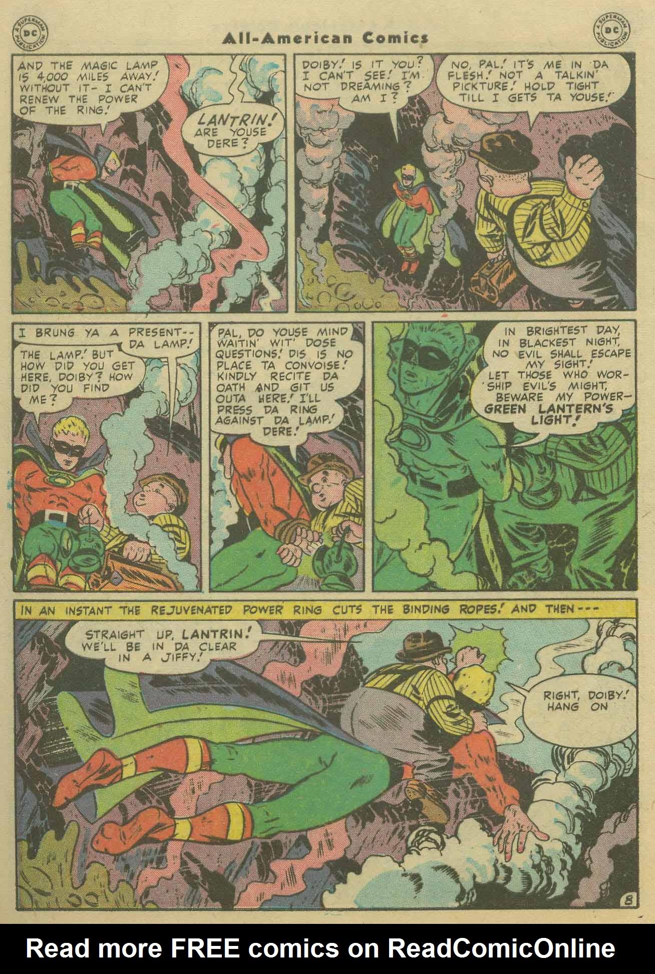 Read online All-American Comics (1939) comic -  Issue #92 - 10