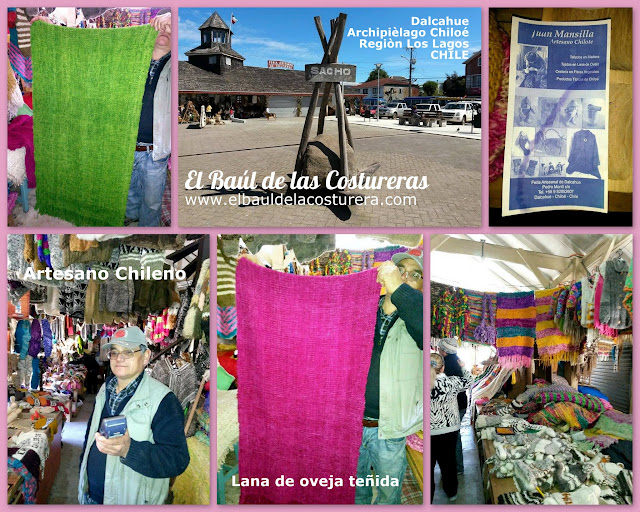 Centro Artesanal Dalcahue lana de ovaja chilota