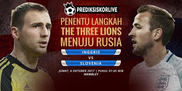 PREDIKSI BOLA: Inggris vs Slovenia