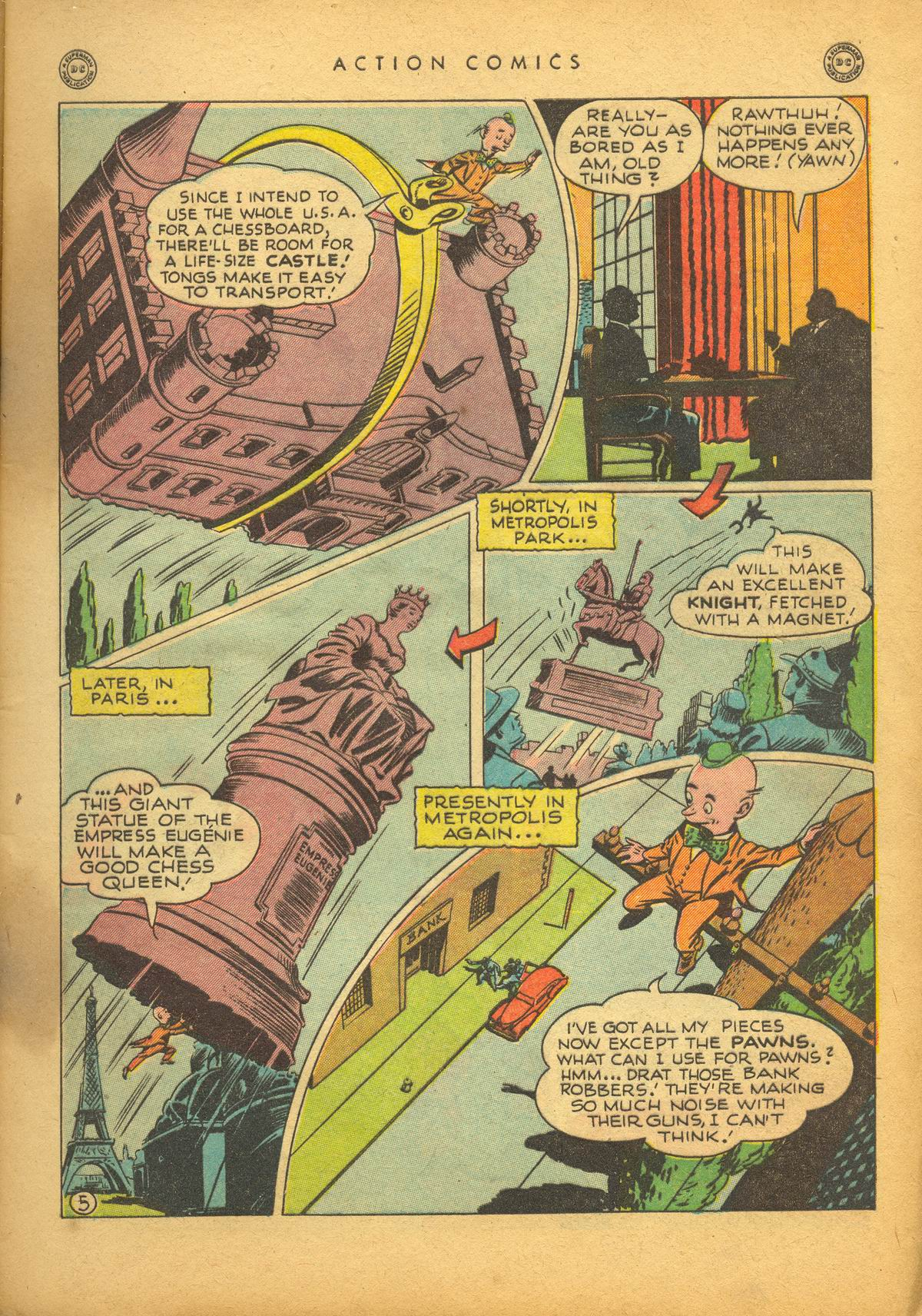 Read online Action Comics (1938) comic -  Issue #112 - 7