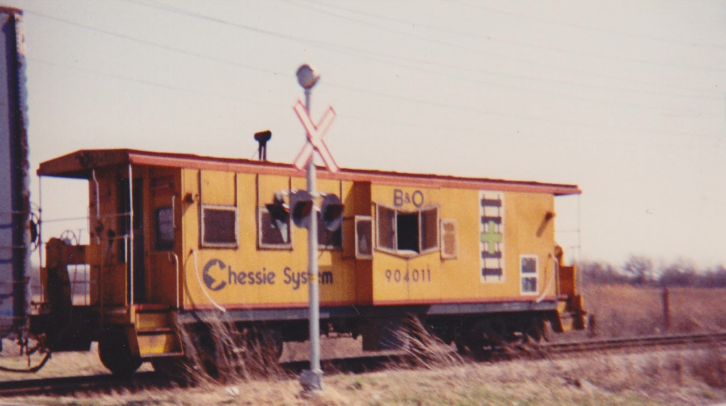 Name this Chessie bay window caboose please - Model