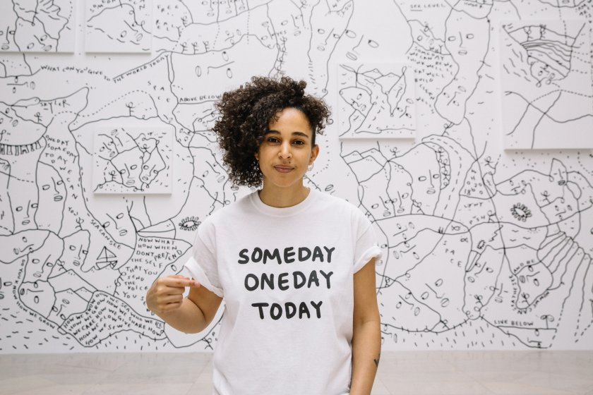 1 Shantell Martin - Someday We Can - Albright-Knox
