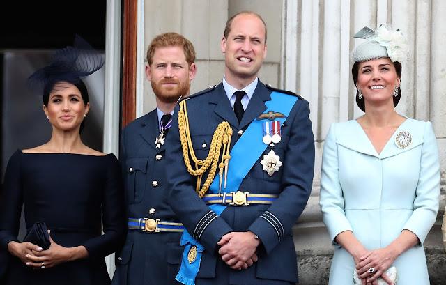 Najnowsze informacje na temat księcia i księżnej Cambridge oraz księcia i księżnej Sussex
