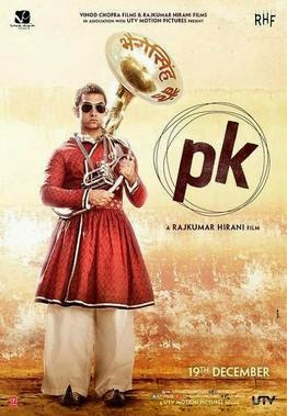2014 Bollywood movie PK Poster