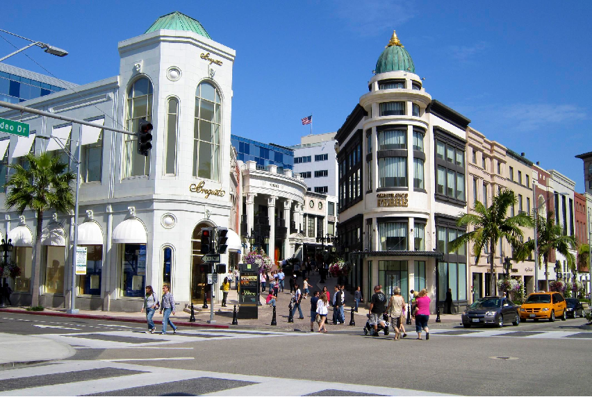 Rodeo Drive em Los Angeles