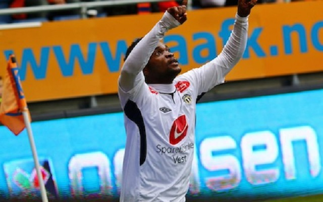 Mahatma Otoo scored in Sogndal 2-1 loss to Viking