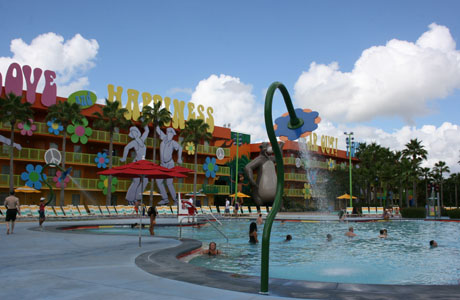 Hotel Disney, hotel económico, Walt Disney World Resort