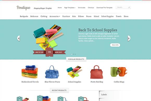 Boutique SoraTemplates Theme