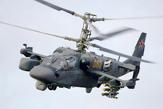 Helikopter Serang Kamov Ka-52 Alligator