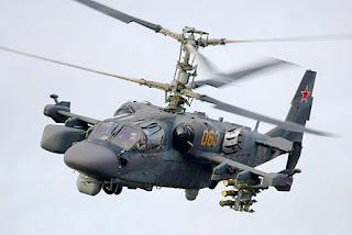Helikopter Serang Kamov Ka-52 Alligator