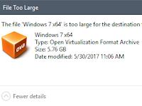 Mengatasi Tidak Dapat MengCopy File Besar ke Flashdisk