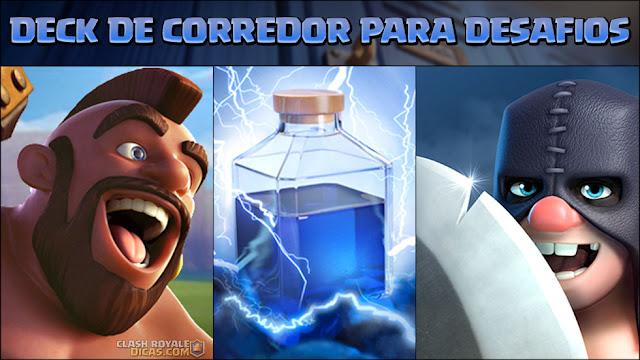 Deck de Corredor + Relâmpago para Desafios