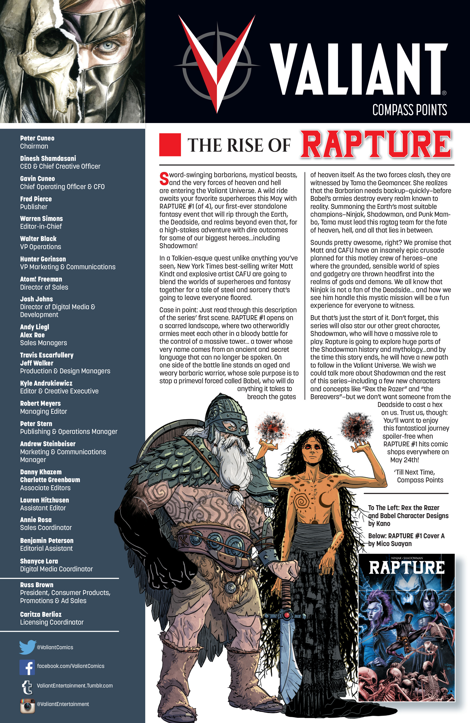 Read online Rapture comic -  Issue #2 - 33