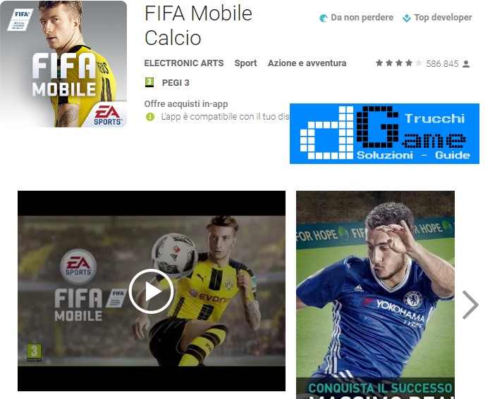 Trucchi Fifa Mobile Soccer Mod Apk Android v3.0.0