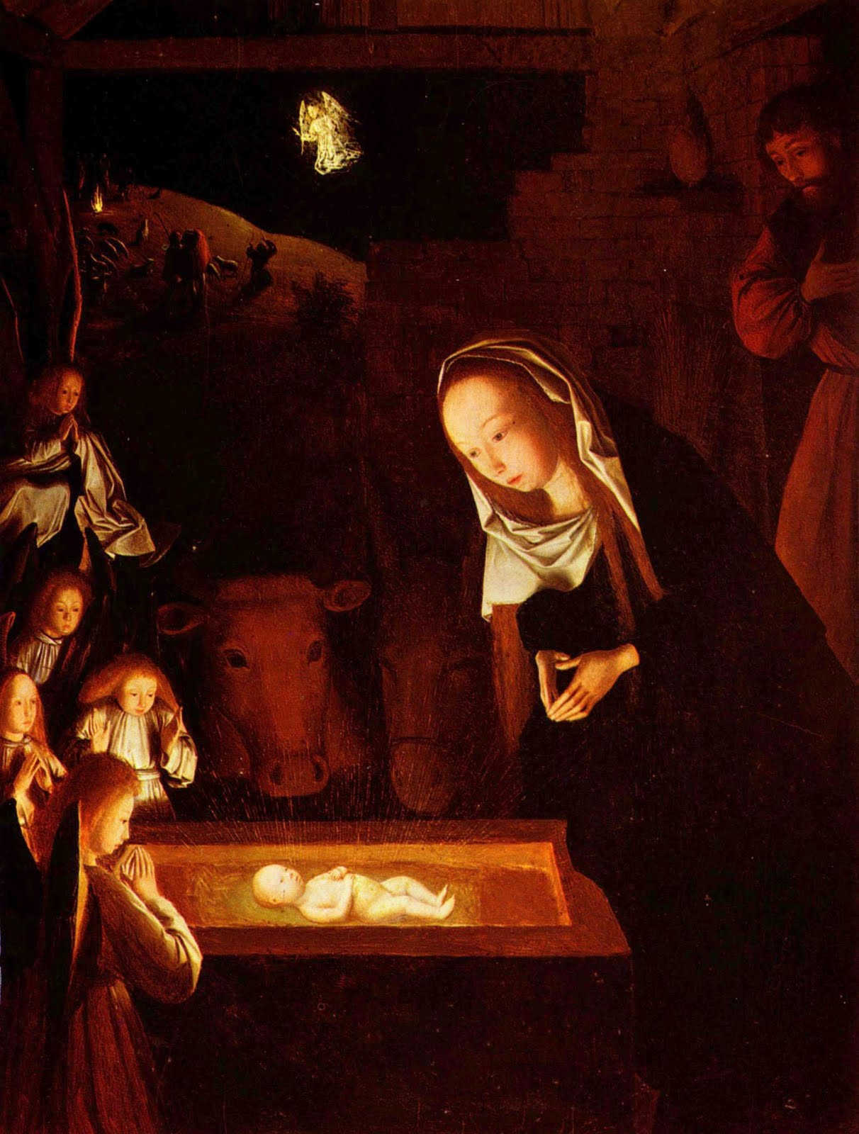 Pittori Fiamminghi National Gallery Zealotry Of Guerin Nativity At Night Geertgen Tot Sint Jans
