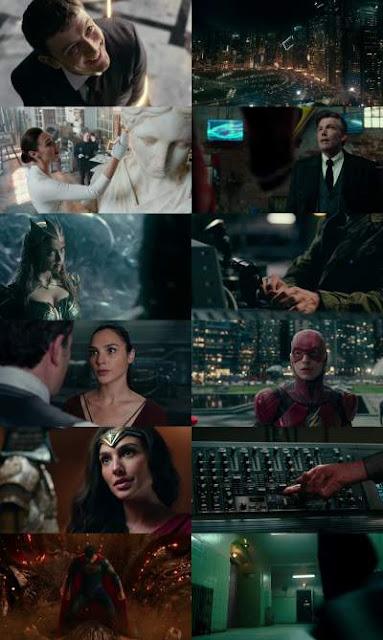 Justice League (2017) 720p Org Auds Hindi - Tamil - Telugu - Eng BDRip