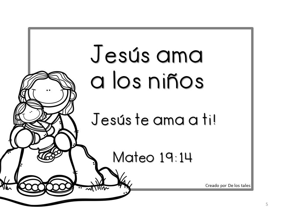 Asombroso Jesús Me Ama Hoja Para Colorear Ilustración - Dibujos Para ...