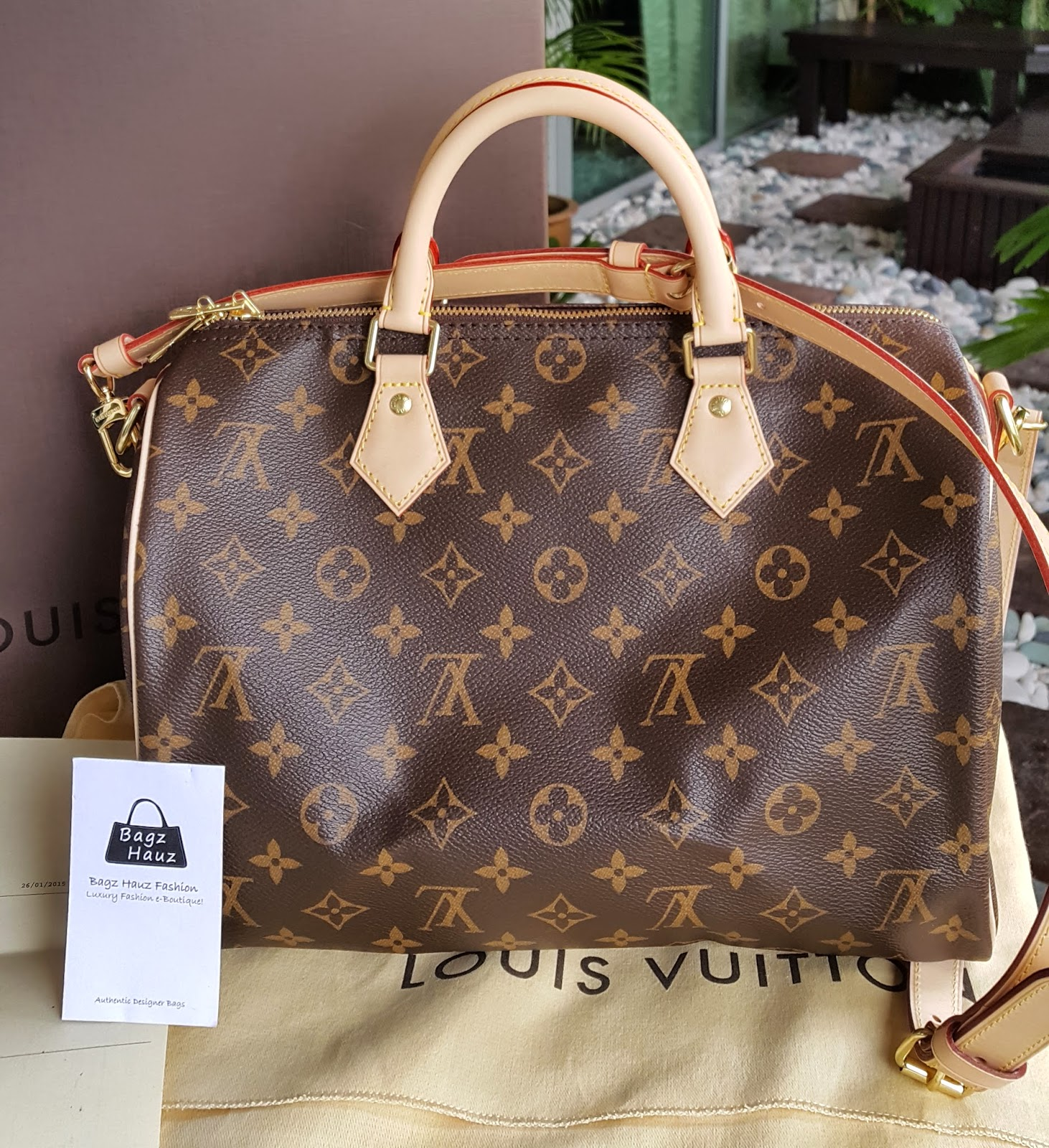d1f87d57d0b1 LOUIS VUITTON Speedy 30 Bandouliere in Monogram Canvas (opting for 3x  installment payment plan too) ~ For Suzie (Brunei) ~ ♥♥1st time customer♥♥