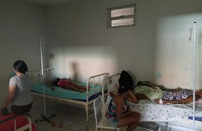 Situação caótica do hospital municipal de Chapadinha 1