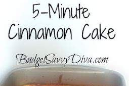 5-MINUTE CINNAMON CAKE RECIPE