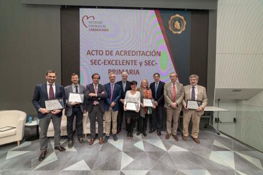 La Unidad de Arritmias del Hospital de Sant Joan recibe un reconocimiento de calidad de la Sociedad Española de Cardiología